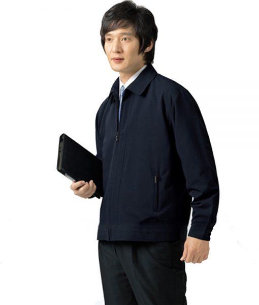 may áo khoác gió đồng phục