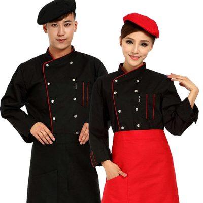 áo đầu bếp nhà hàng