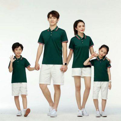 đồng phục áo gia đình đẹp