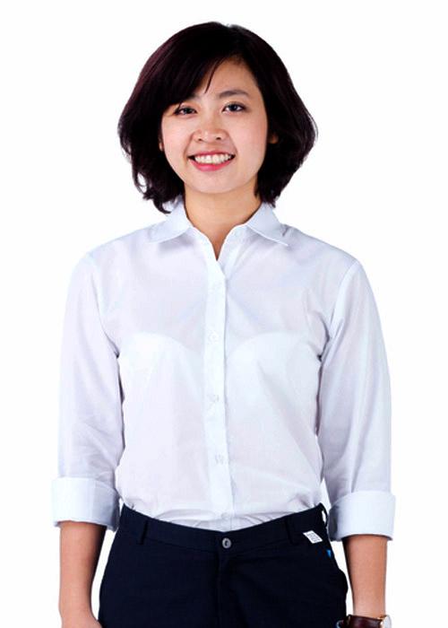 May quần áo học sinh