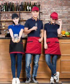 đồng phục quán cafe trà sữa