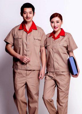 Mẫu đồng phục công nhân đẹp
