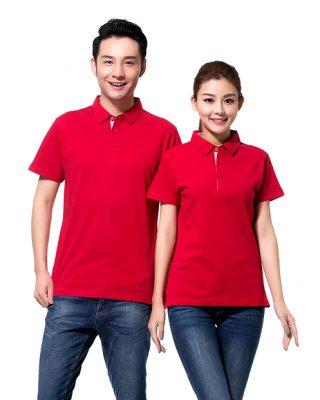 may áo thun công nhân
