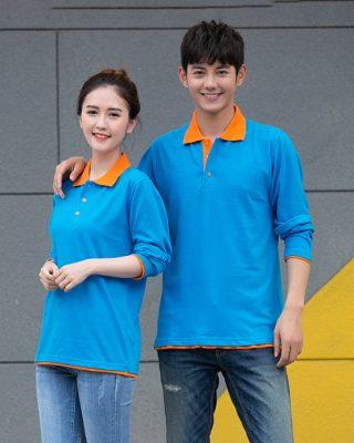 may áo thun đồng phục công nhân