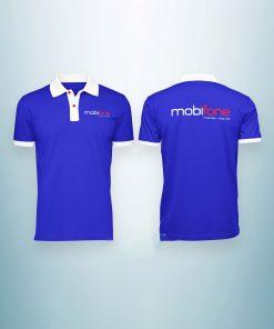 áo thun đồng phục mobifone