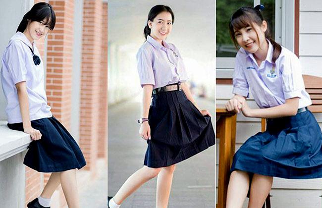 váy đồng phục học sinh